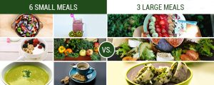 3 meals are better than 3 meals for diabetics