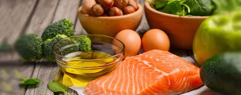 Eat more healthy fats- salmon, olive oil
