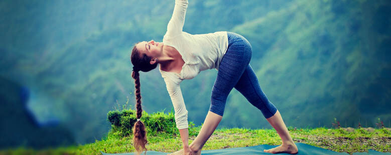 Yoga decreases stress, anxiety and improves mood.