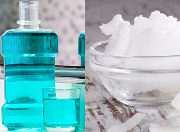 Oil Pulling and Mouthwash