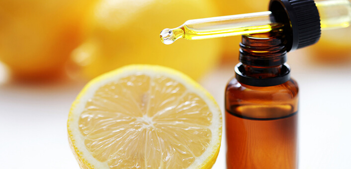 Essential oils for heartburn - lemon oil